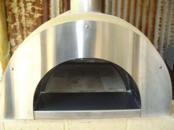 Diy Wood Fired Pizza Oven Stainless Steel